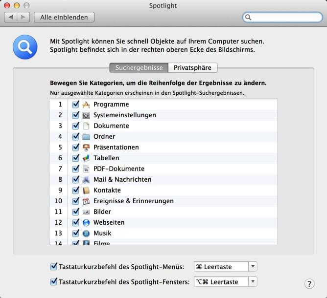 Tastenkombinationen Fur Mac Os Shortcuts Und Tastenkurzel