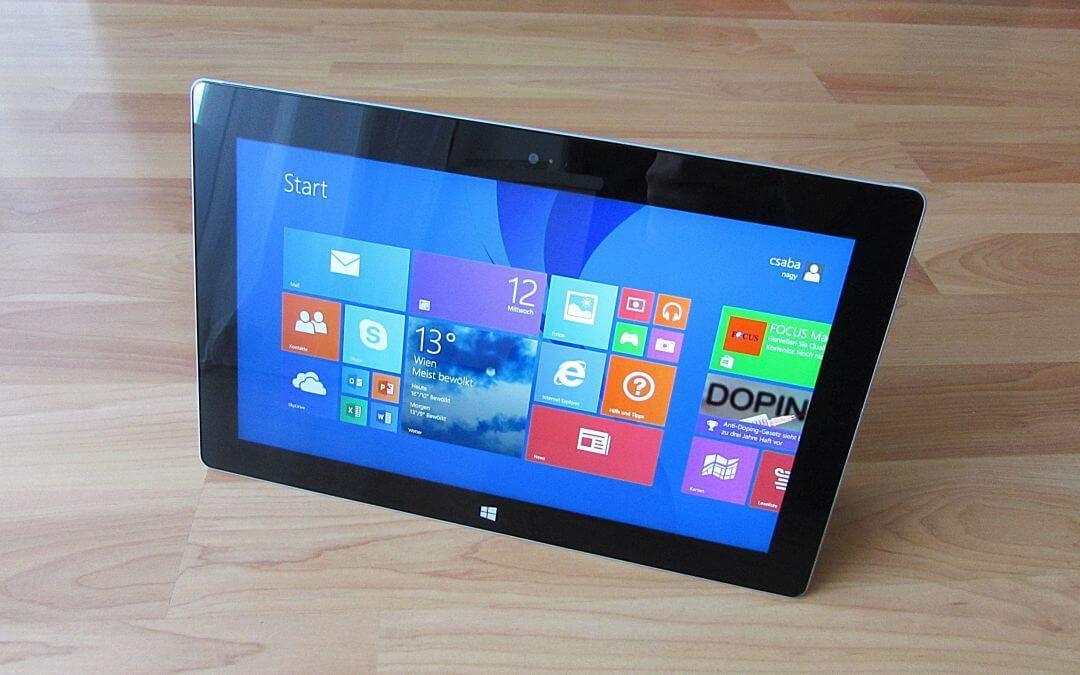 Wie gut lässt es sich mit dem Surface Pro von Microsoft schreiben und arbeiten?