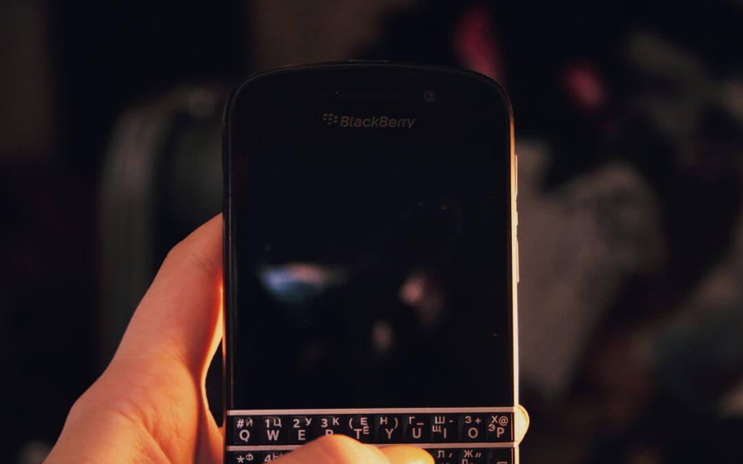 Der Tastaturklassiker Blackberry ist wieder da